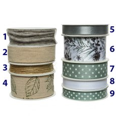 Nature Gift Wrapping Ribbon