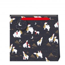 Sara Miller Polar Bears Bag