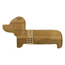 Orla Kiely Home Wooden Serving Board Dachshund