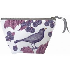 Thornback & Peel Classic Blackbird & Bramble Small Cosmetic Bag