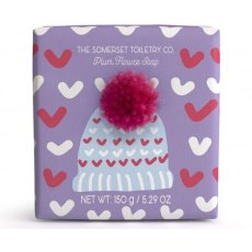 Bobble Hat Soap Plum Flower