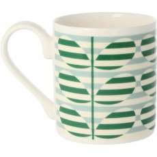 Orla Kiely Green Stripe Stem Mug