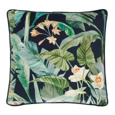 Walton & Co Paradis Wild Orchid Feather Fill Cushion
