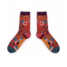 Scandi Floral Socks