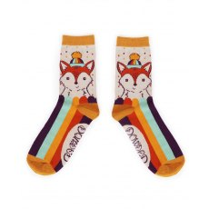 Foxy Ankle Socks