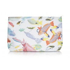Rose Fulbright Tropical Print Wash Bag