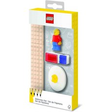 Lego Stationery Set With Mini Figure