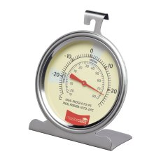 Large S/S Fridge And Freezer Thermometer