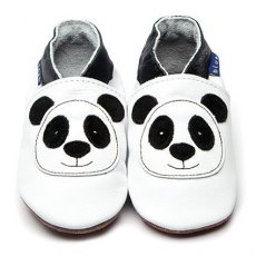 White Panda Shoes 6-12m