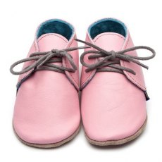 Pink Derby Shoes 6-12m