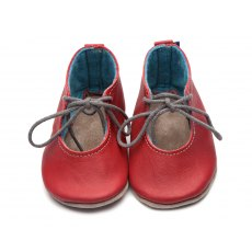 Red Mable Shoes 6-12 Months