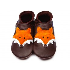 Brown Mr Fox Shoes 6-12 Months