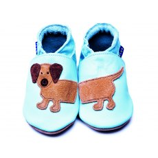 Baby Blue Dachshund Shoes 6-12 Months