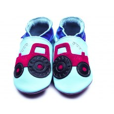 Baby Blue Tractor Shoes 6-12 Months