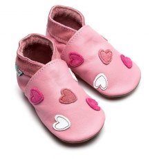 Baby Pink Cariad Shoes 6-12 Months