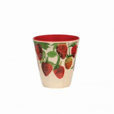 Emma Bridgewater Strawberries Bamboo Melamine Beaker