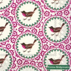 Emma Bridgewater Joy Robin Lunch Napkins
