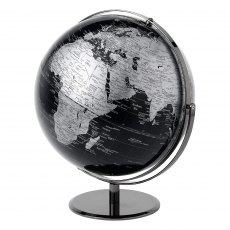 Black Globe with Swivel Stand 43cm
