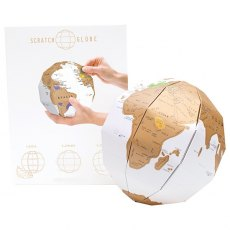 Scratch Globe Personalised 3D Map