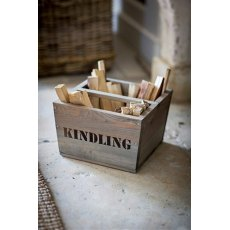 Kindling Box Wooden