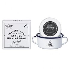 Gentleman's Hardware Shaving Soap & Enamel Bowl