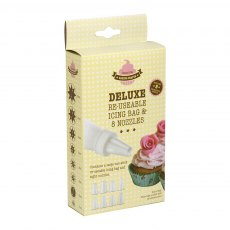 Deluxe Disposable Icing Bags & Nozzles