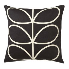 Orla Kiely Cushion Large Linear Stem Slate Blue