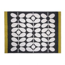 Orla Kiely Sixties Stem Throw Slate