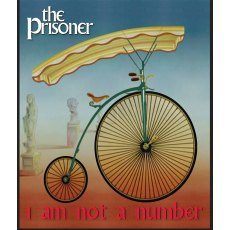 The Prisoner Pennyfarthing Bag