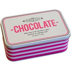 Alice Scott Rectangular Chocolate Tin