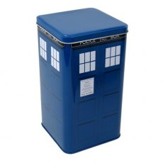 Doctor Who Tardis Biscuit Tin