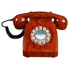 1960's 746 Desk Phone - Wood