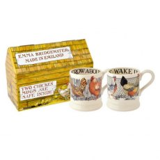 Emma Bridgewater Hen & Toast Set of 2 1/2pt Mugs