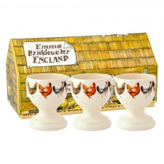 Emma Bridgewater Hen & Toast Set of 3 Egg Cups