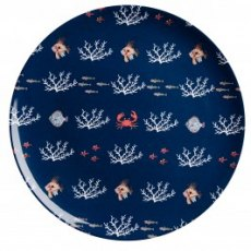 Sophie Allport What a Catch! Melamine Dinner Plate