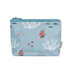 Sophie Allport What a Catch! Oilcloth Wash Bag