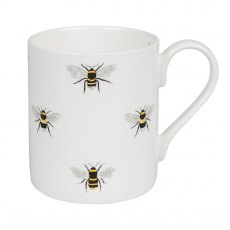 Sophie Allport Busy Busy Bumble Bee White Mug