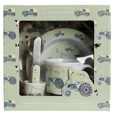 Sophie Allport On The Farm Kids Melamine Dinner Se