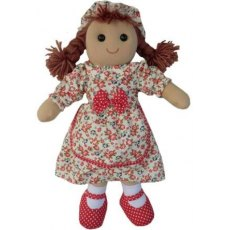 Rag Doll with Vintage Floral Dress 40cm