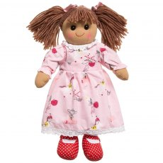 Rag Doll with Pony Print Dress 40cm