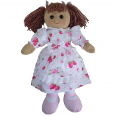 Rag Doll with Strawberry Dress 40cm