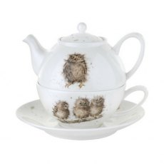 Tea For One With Saucer Owls