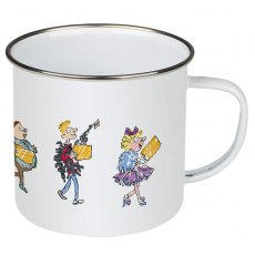 Charlie and the Chocolate Factory Enamel Mug
