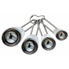 Grunwerg 4 Piece Stainless Steel Measuring Spoons Set
