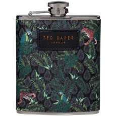 Ted Baker Jungle Print Hip Flask