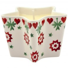 Emma Bridgewater Joy Star Candle
