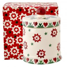 Emma Bridgewater Joy Star Small Lidded Candle