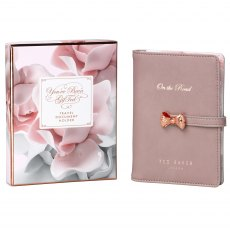 Ted Baker Thistle Travel Document Holder & Pen