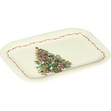Christmas Tree Snack Tray