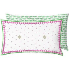 Gunda Festive Red & Green Cushion